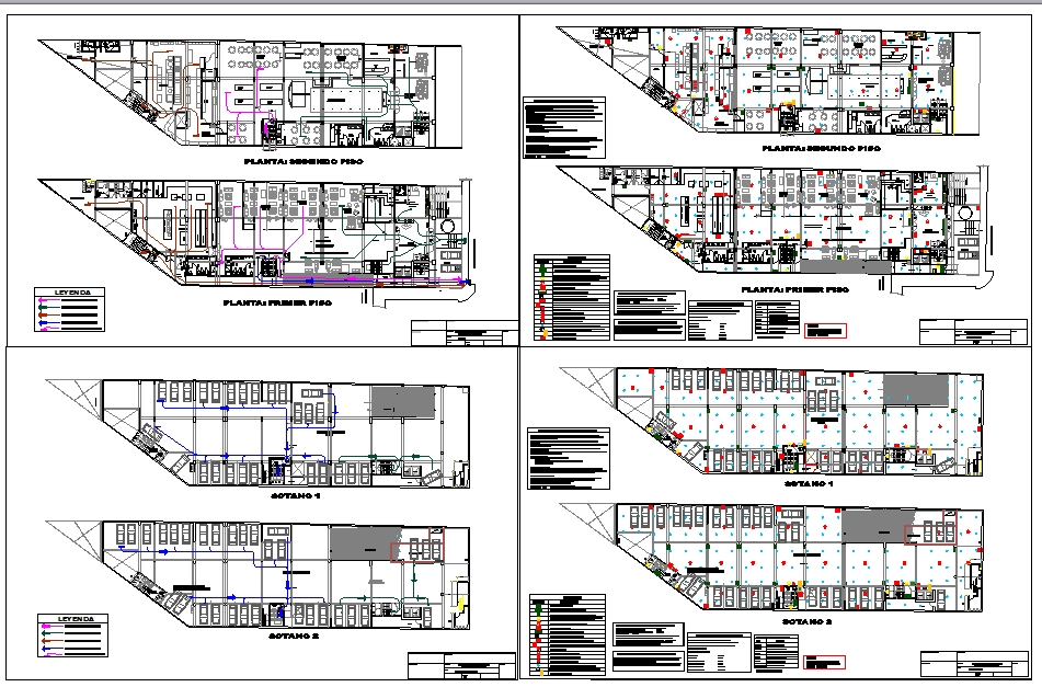Restaurant DWG drawing file