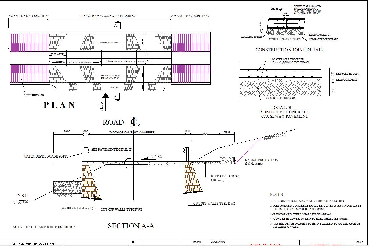 Causeway Design