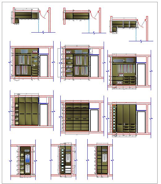 Wardrobe Block design