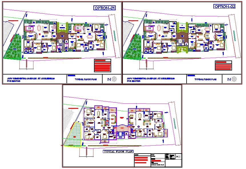 Twins  Bungalow Floor Plan