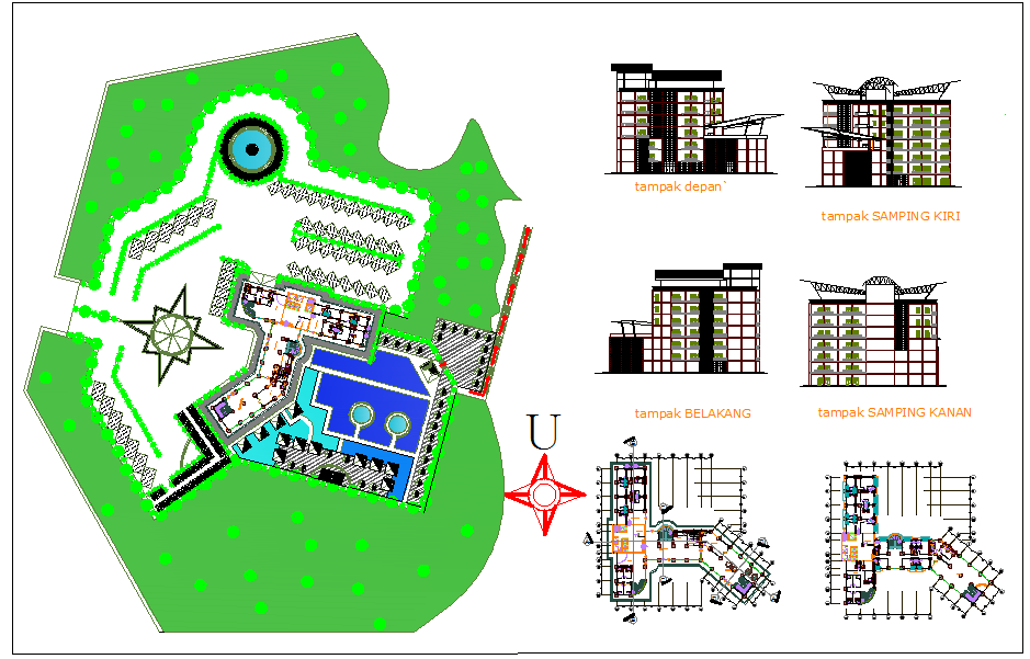 Resort Hotel design
