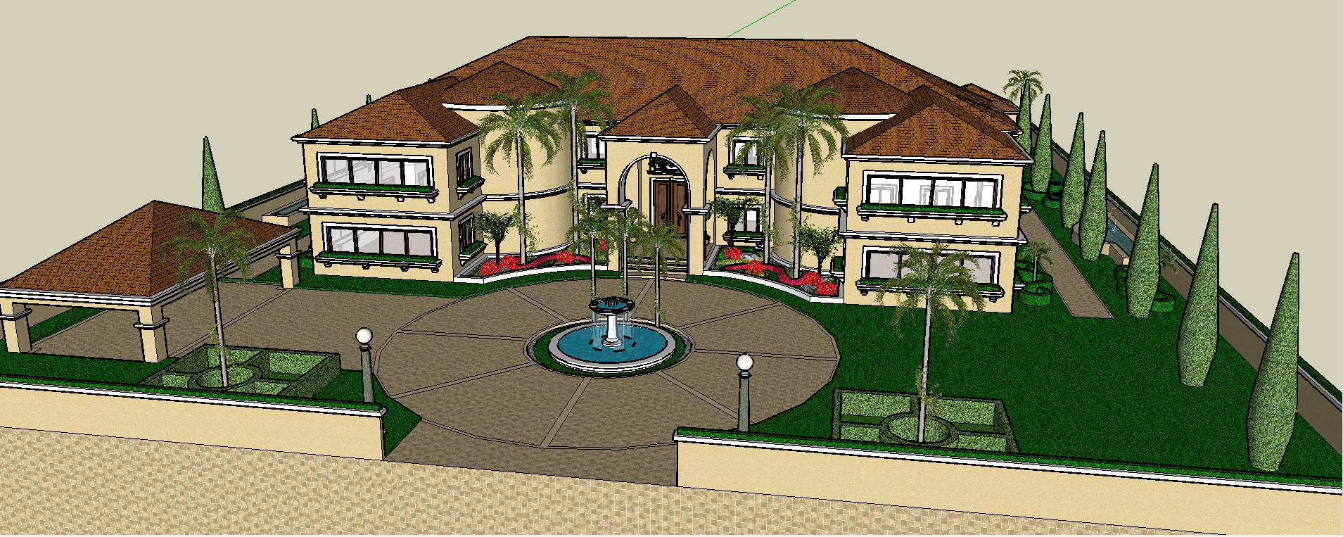 3D  bungalow project