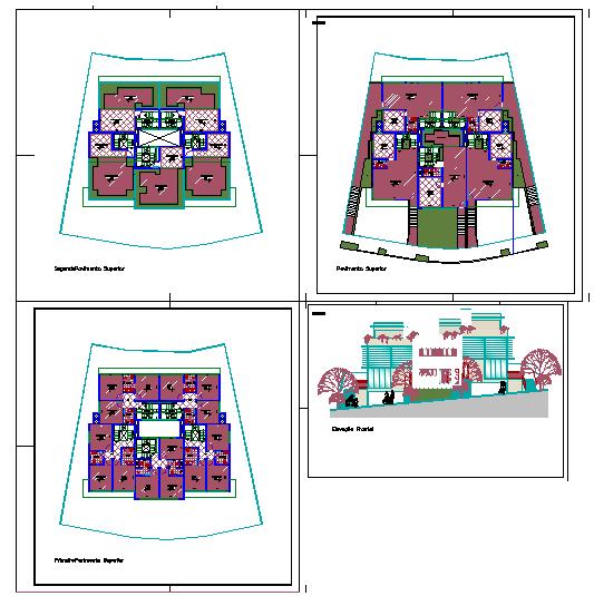 House Plan & Elevation detail