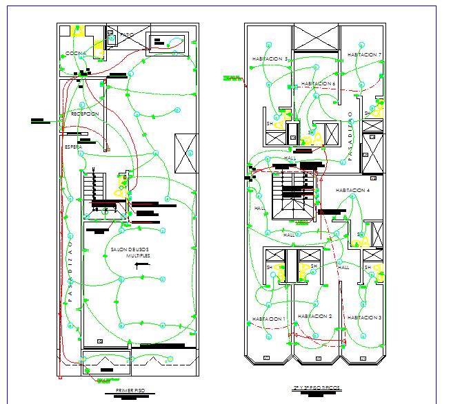 House electrical plan design