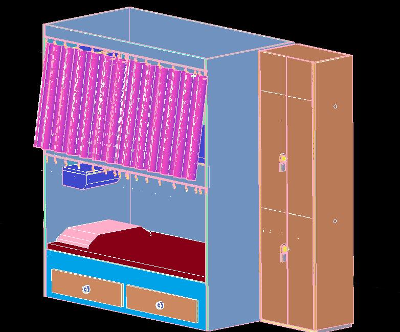 3d Children Bed