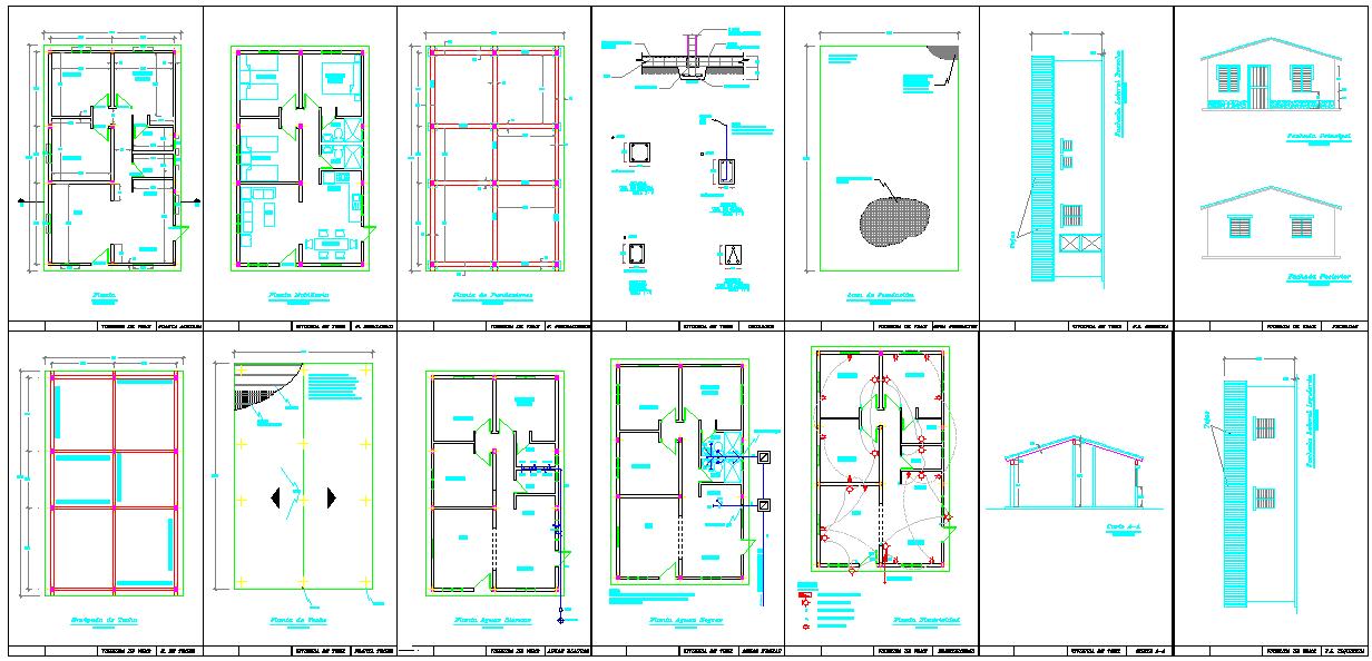 Simple House detail plan