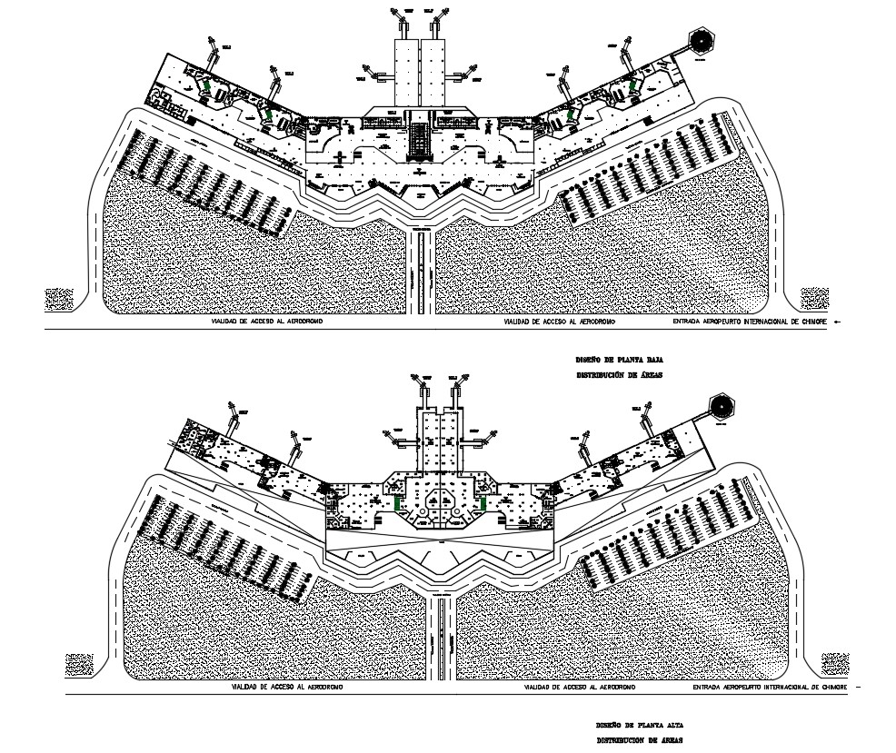 Airport Layout Plan Drawing