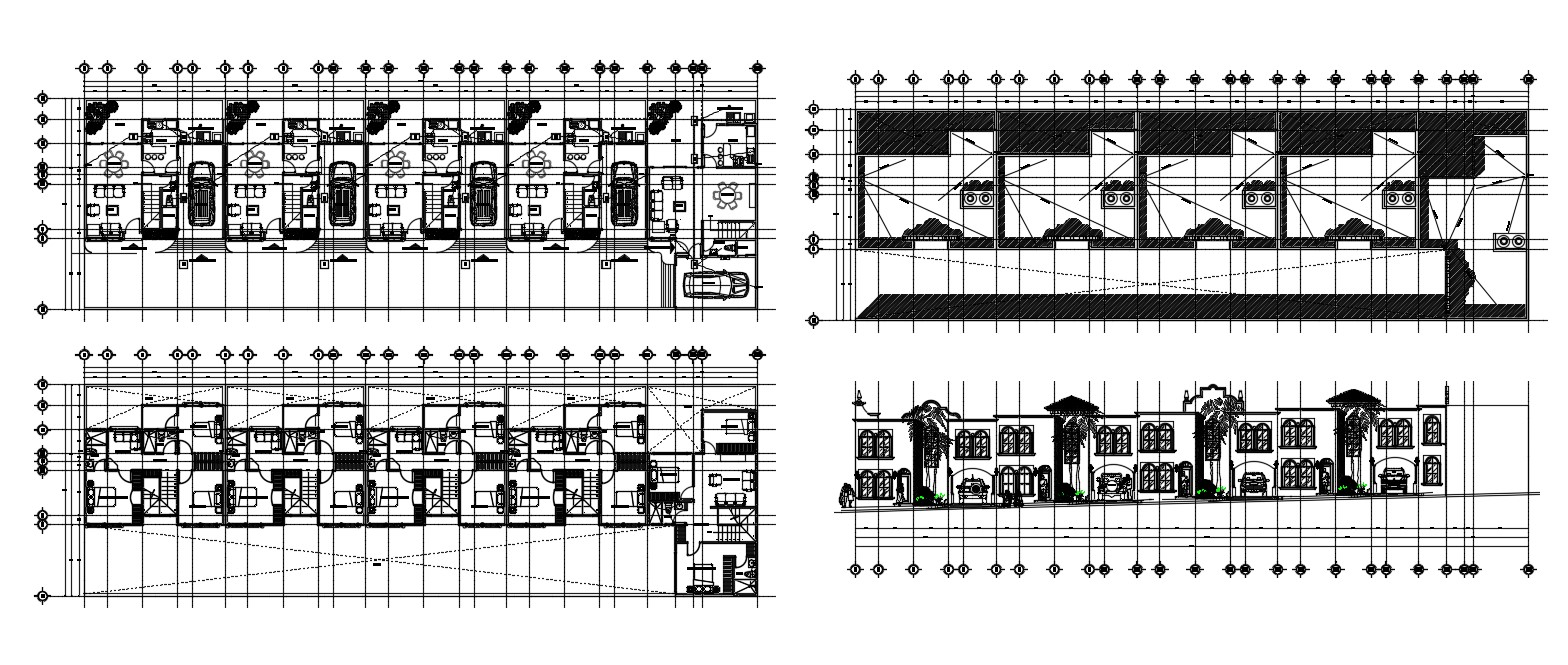 Apartment Design CAD file