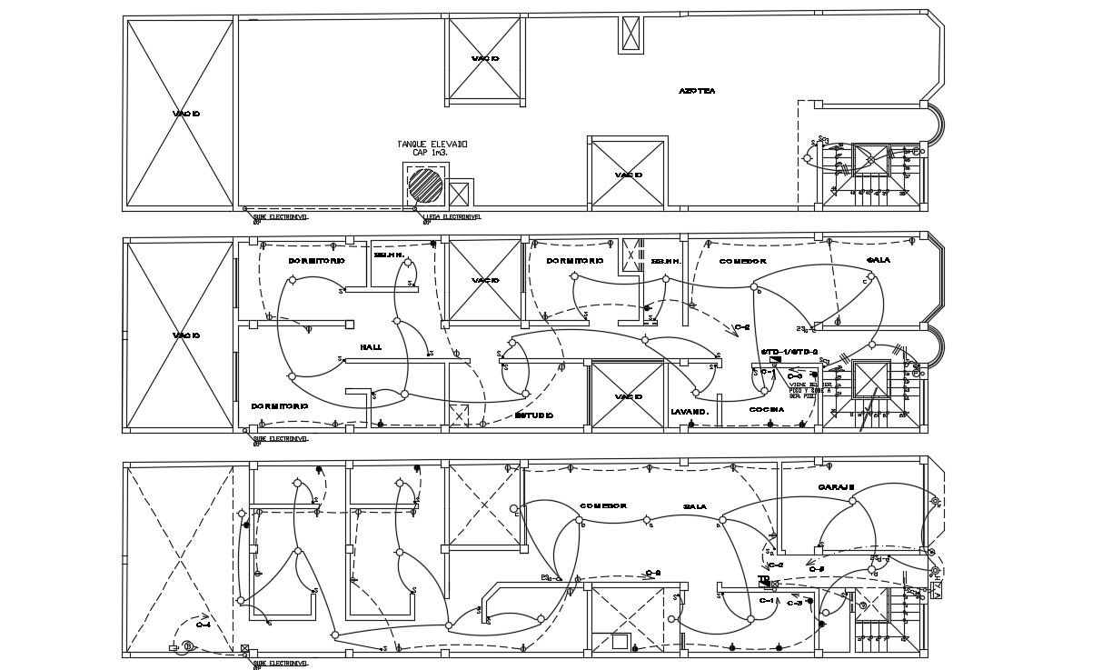 apartment electrical plan design autocad drawing cadbull electrical plan symbols electrical plan design #11