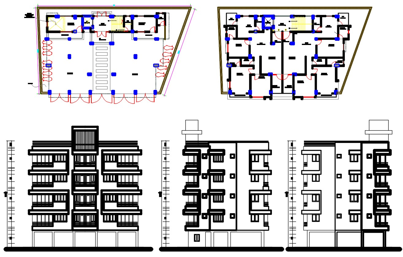 Apartment Plan DWG