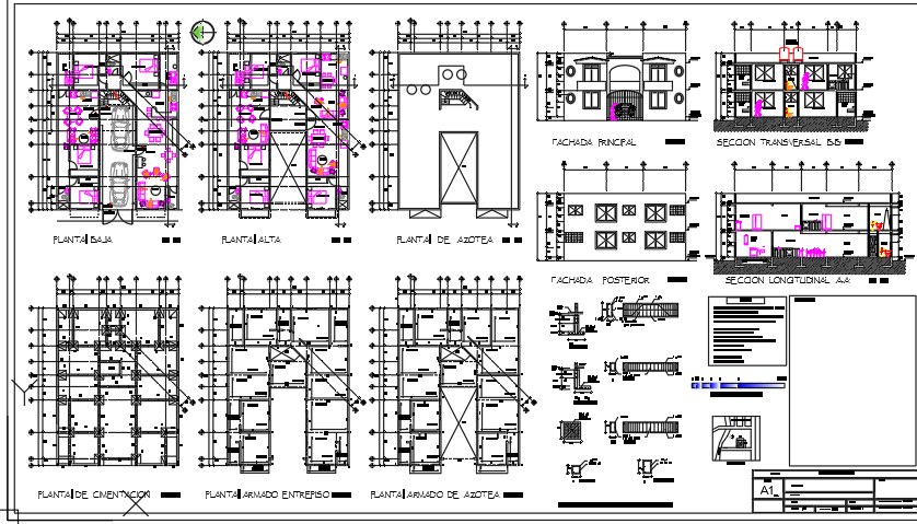 Apartment building details