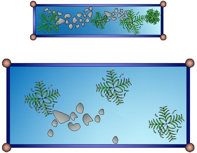 Aquarium Design CAD Drawings