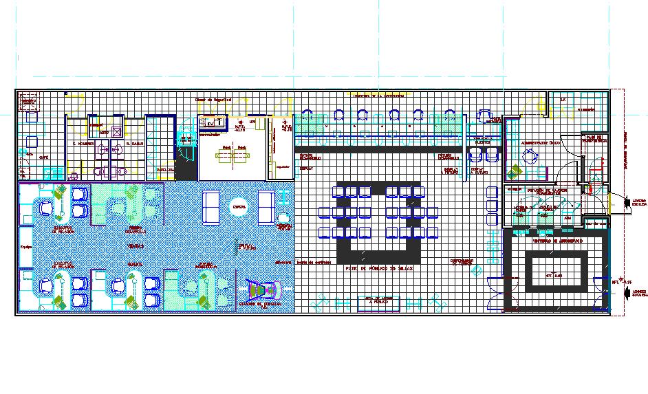 Architect design plan detail