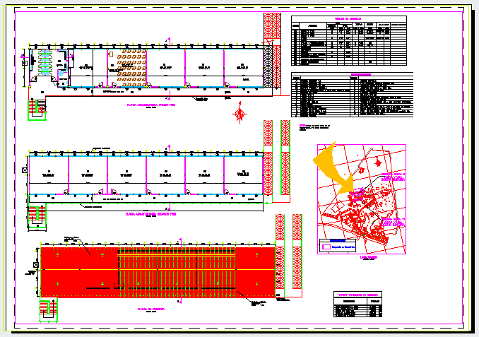 Architectural design of school design