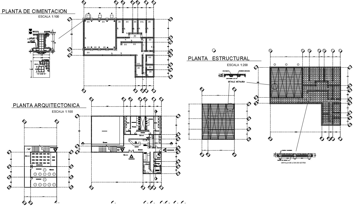 gym architecture plan in Download free DWG file