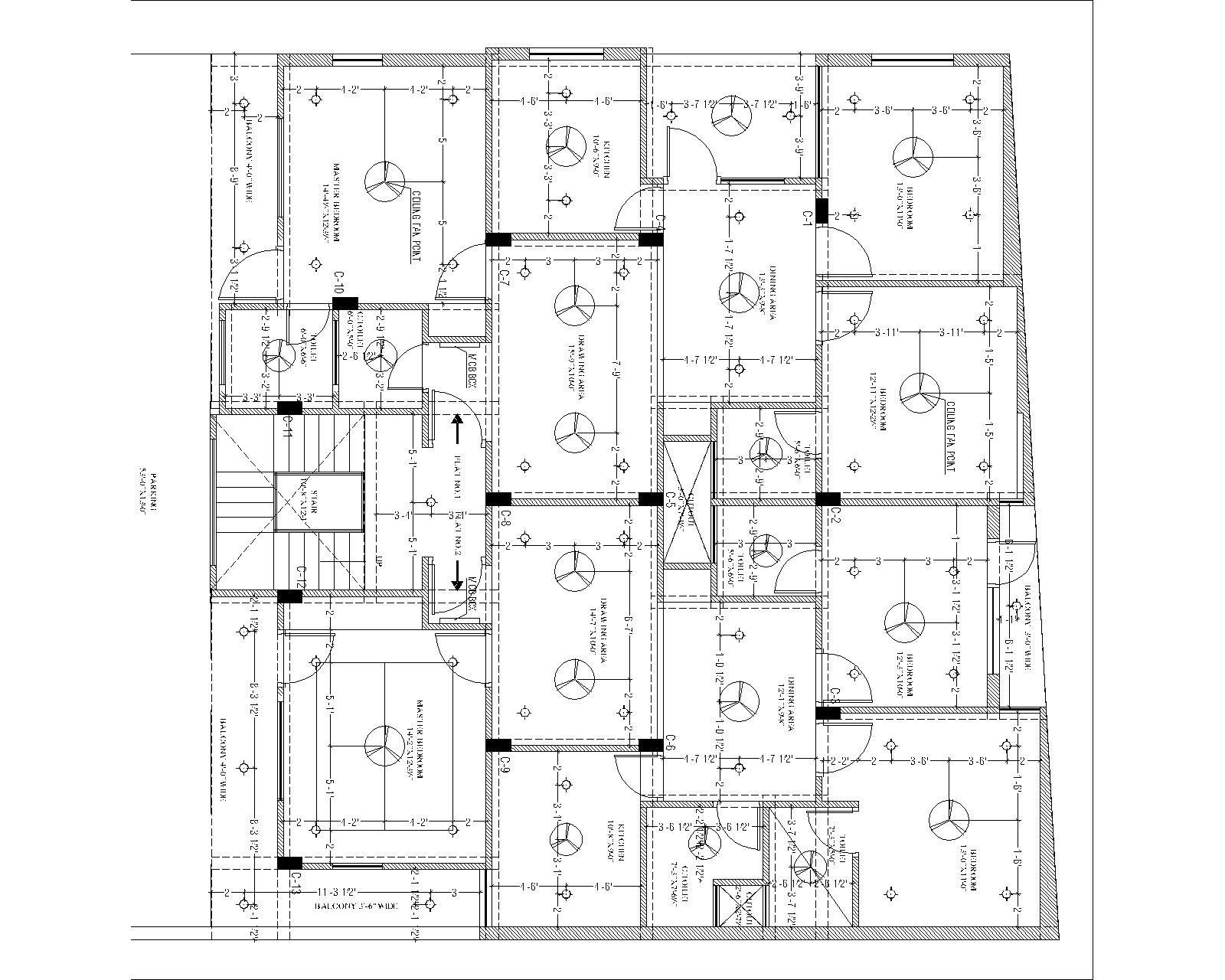 Architecture Ceiling Plan