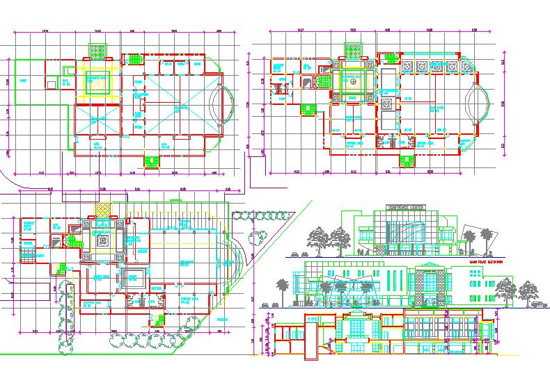 Architecture Restaurant Design Project