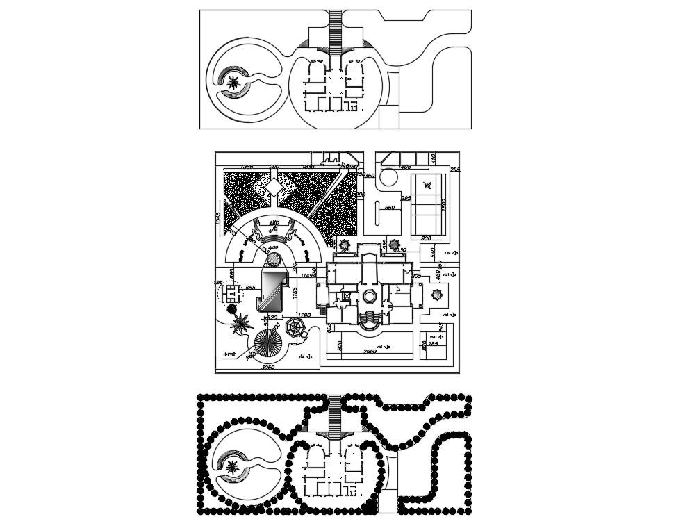 Area Plan CAD File