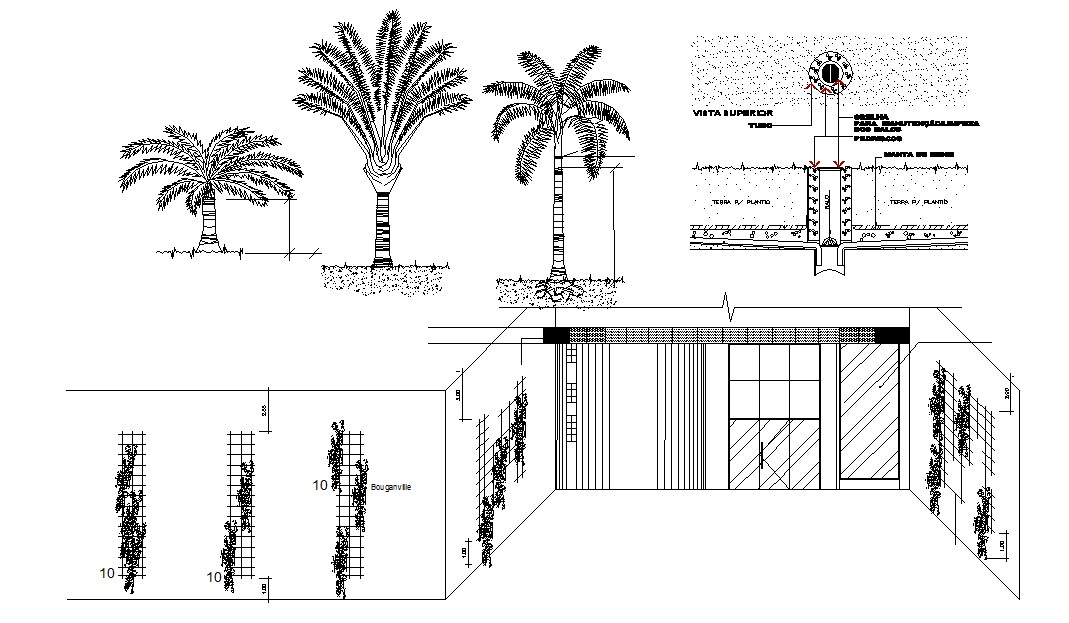 Resort Drawing In DWG File