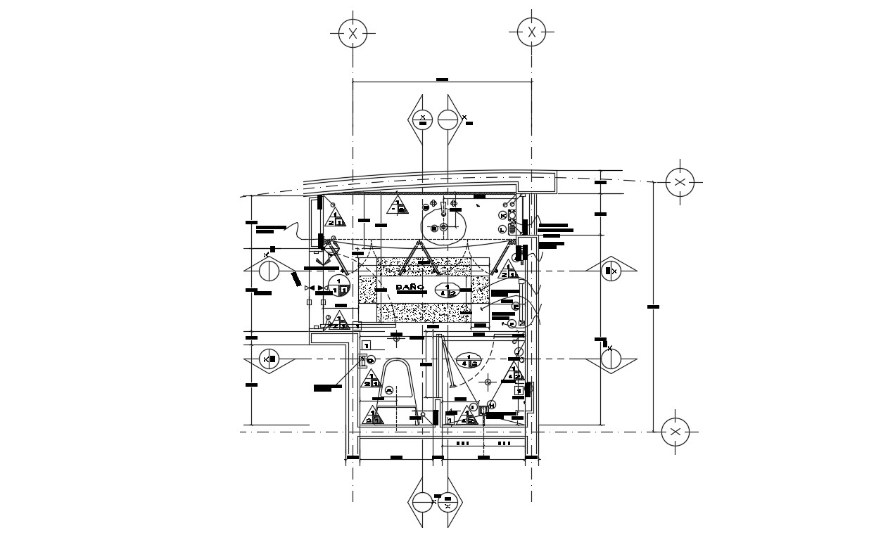 Bathroom Design AutoCAD File - Cadbull
