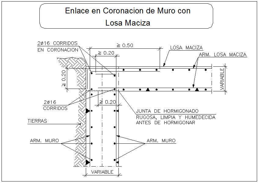 Beam column connection with slab section view detail dwg file