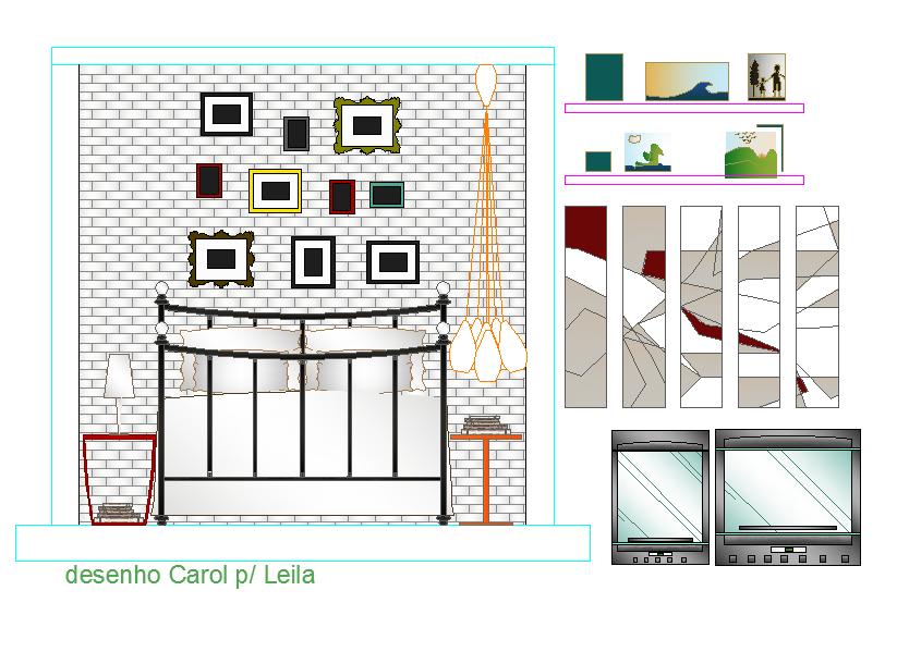 Bed Room Elevation design