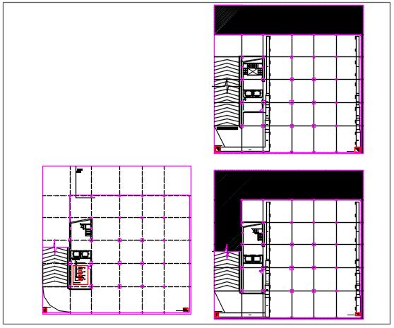 Bottom to top detail house plan detail dwg file