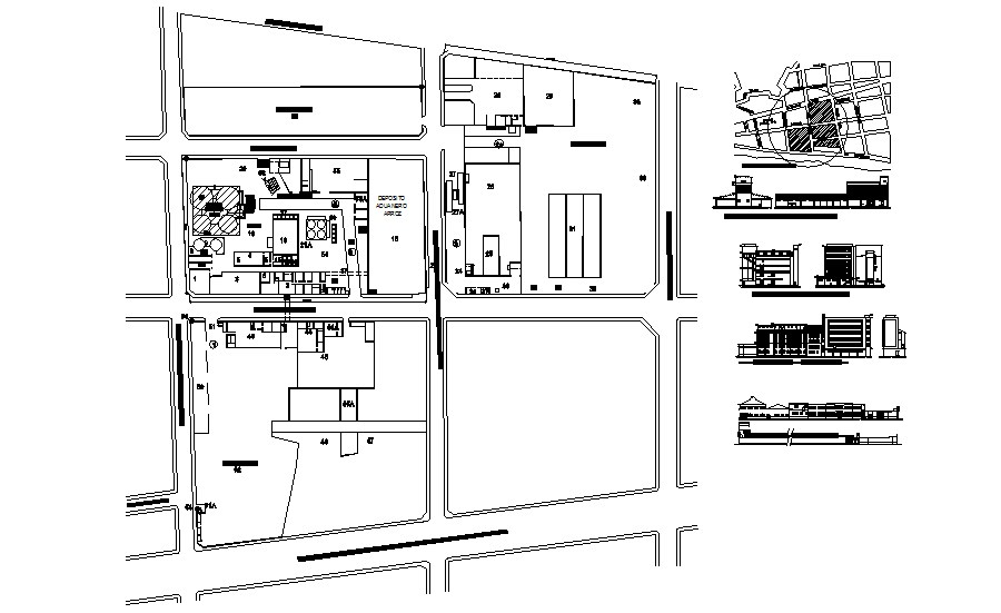 Building Section Drawing In AutoCAD File