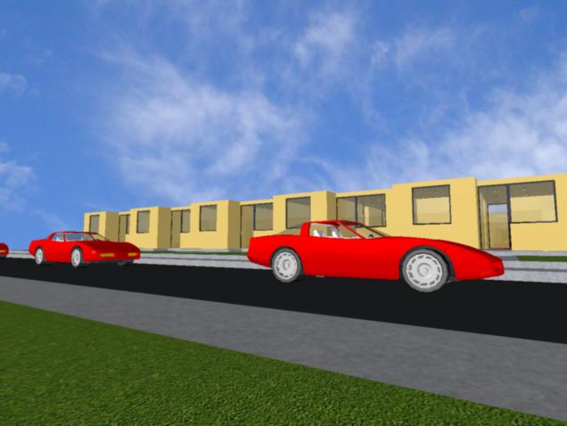 Car parking basement dwg file