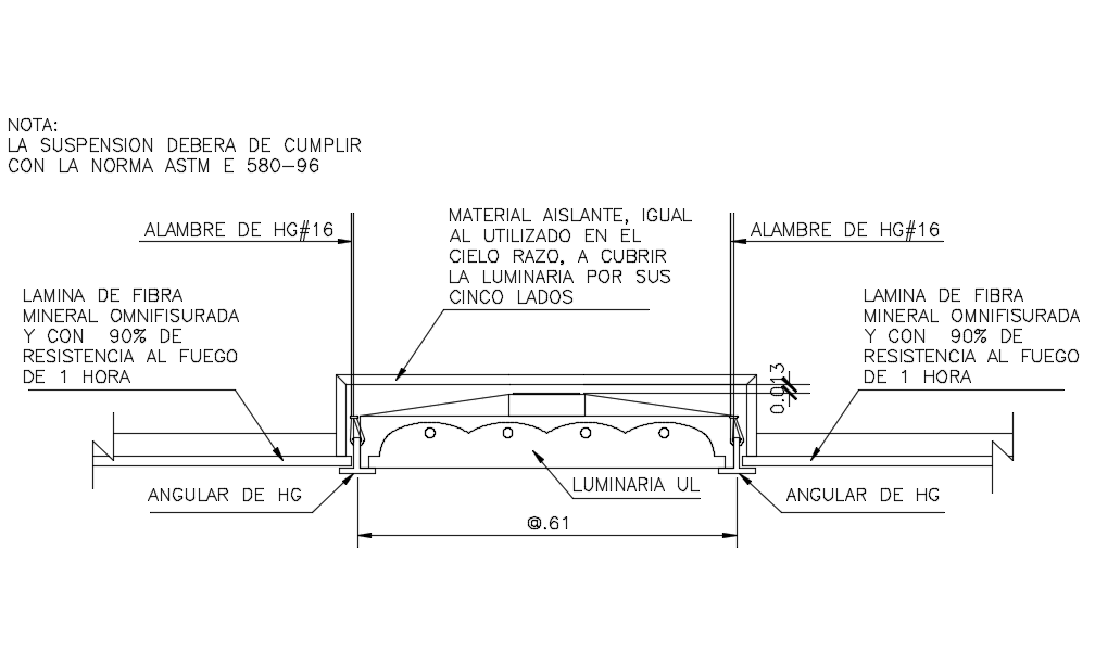 Suspended Ceiling Designs In AutoCAD File