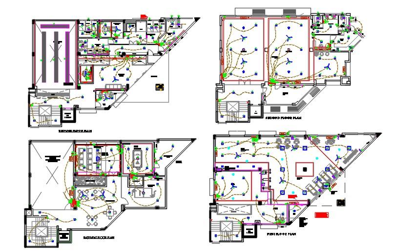 Club house drawings