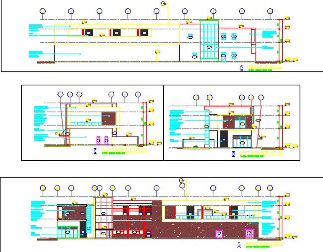 Club house elevations