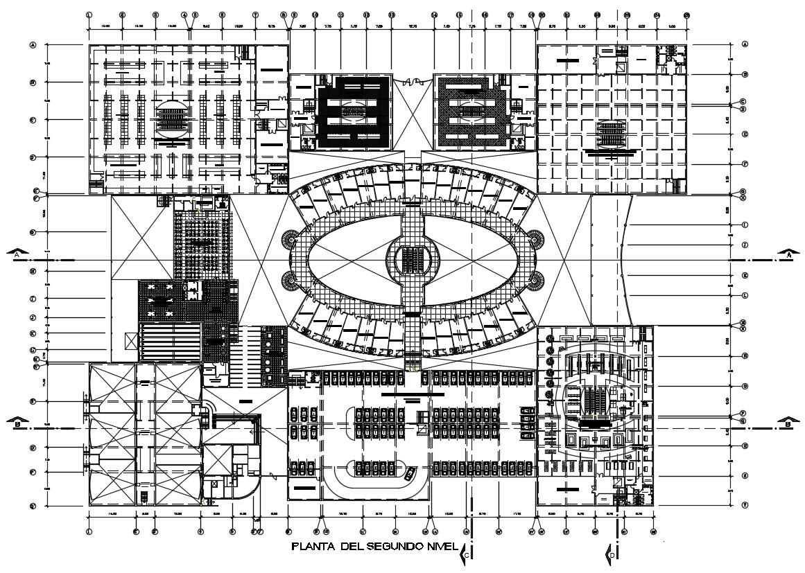 Commercial Hub Design CAD file