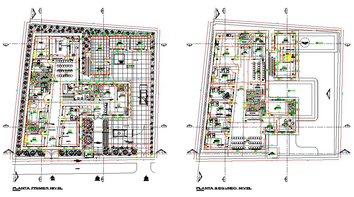 Community clinic plan layout file