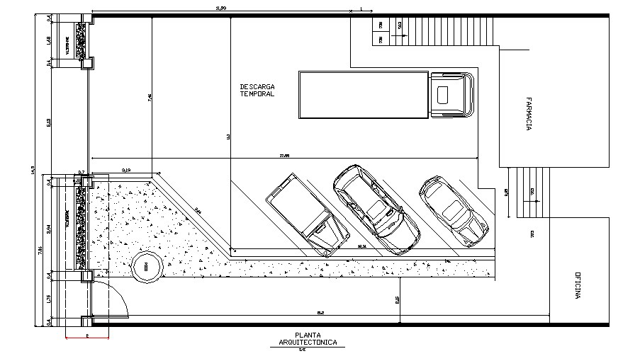 Completion of construction of walker in the livestock plaza cad drawing details dwg file