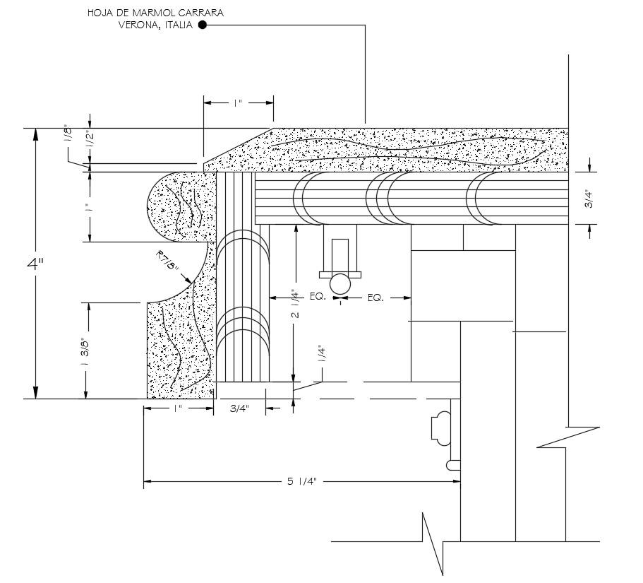 Concrete Masonry Design download CAD file