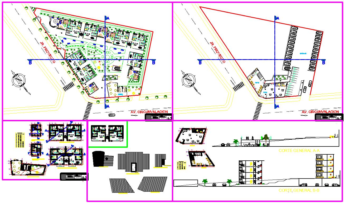 Condominium architecture design