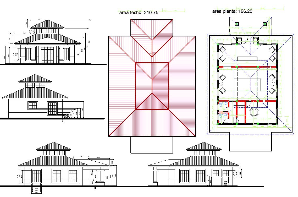 Condominium office structure plan detail view dwg file