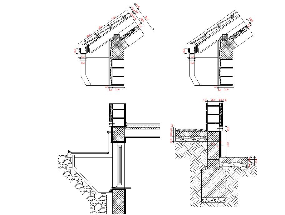 Construction details dwg file