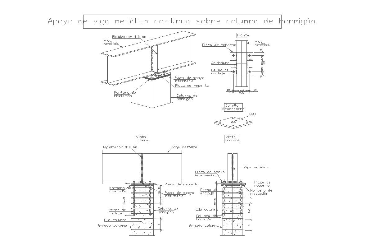 Constructive details dwg files