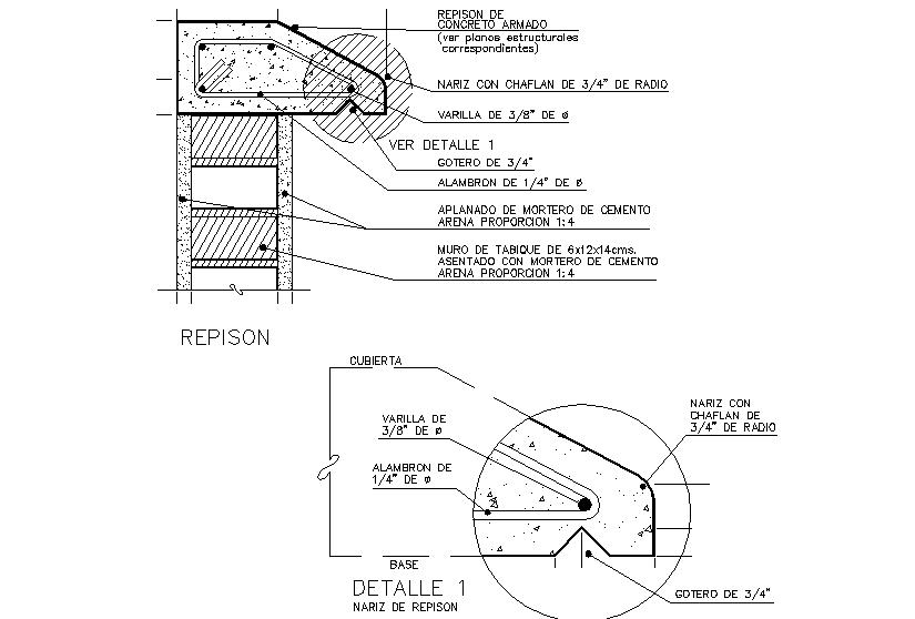 Corbel details