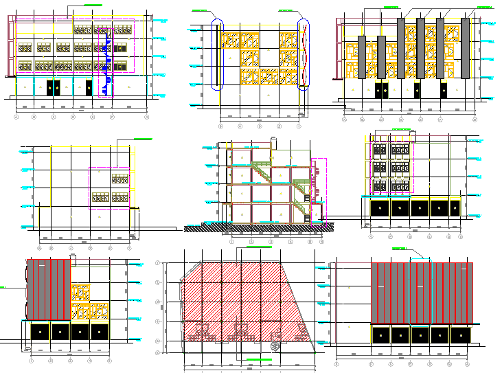 Corporate Building plan