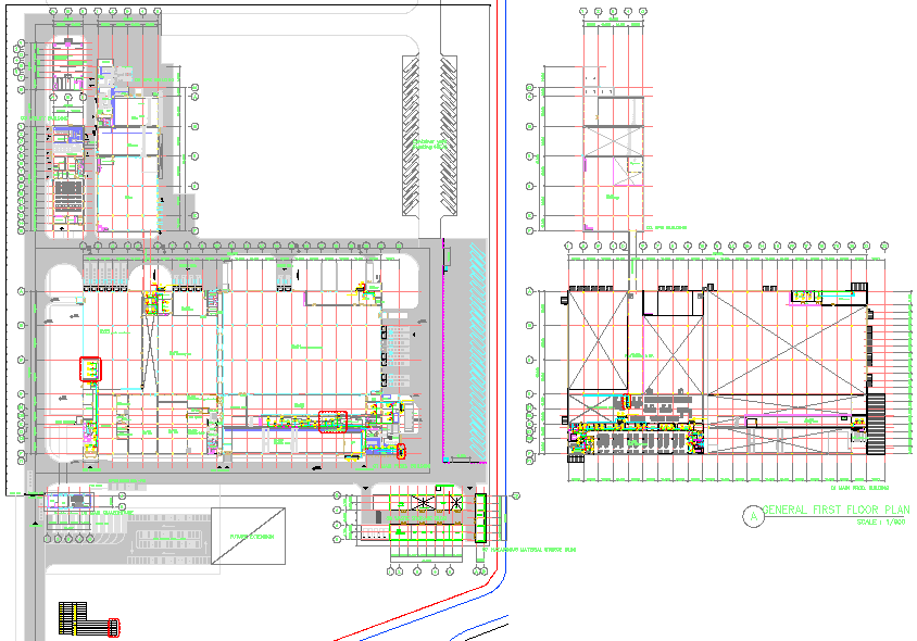 Corporate Project dwg file