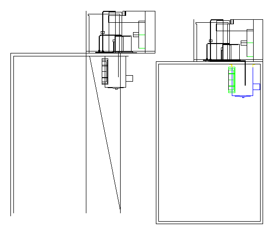 Cultural hall architecture project dwg file