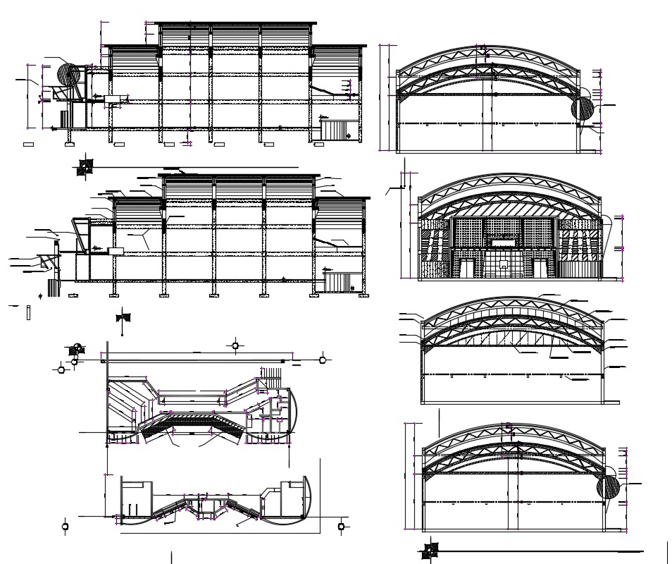 Download Free Building dimensions  in AutoCAD file