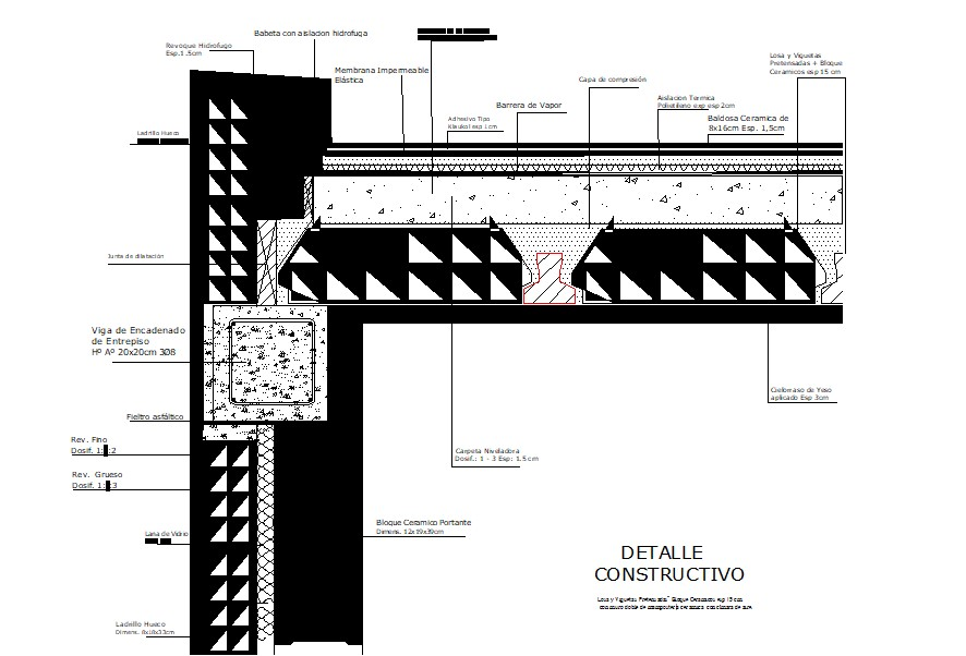 Design of double-wall drawing in autocad