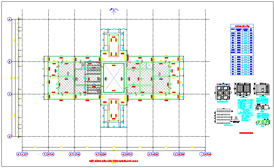 Design view of cooling tower