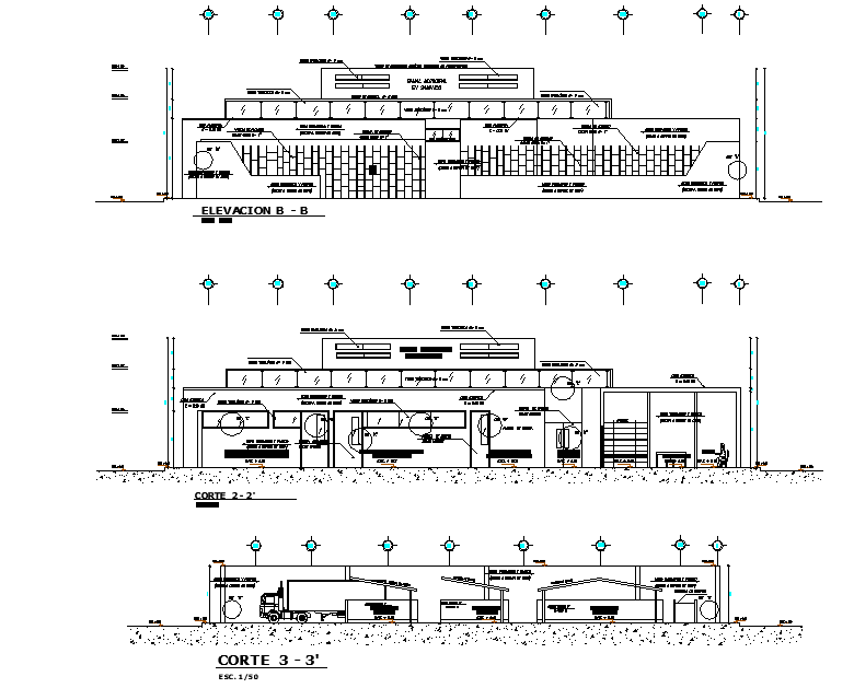 Detail in house plan