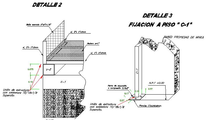 Details  of tiles 2 flooring commercial shop dwg file