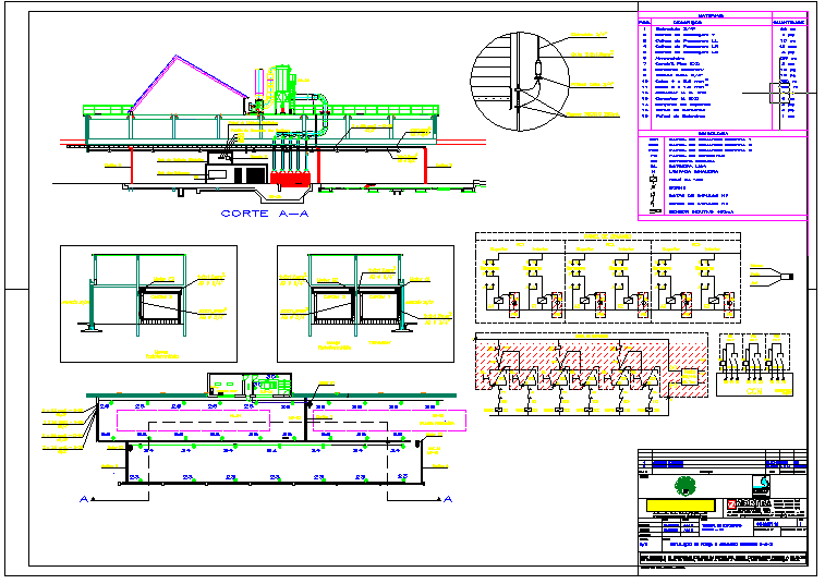 Details of factory machinery